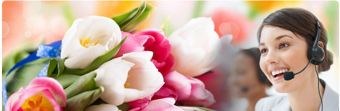 Contact us 24 hours florist shop in london